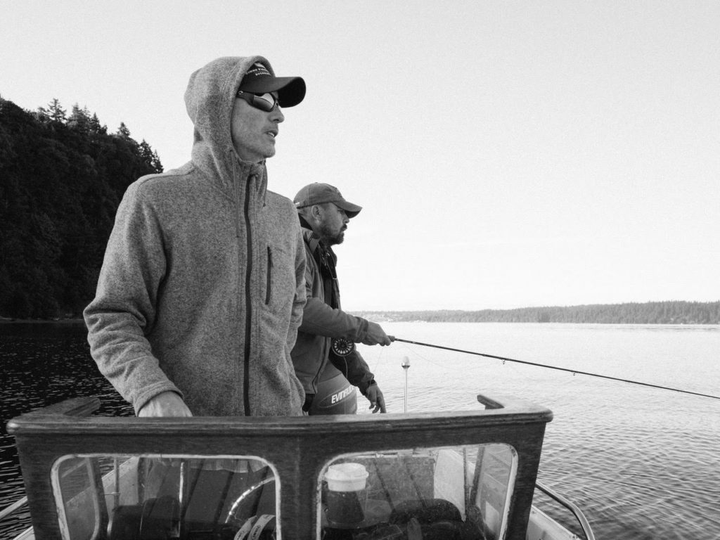 Washington fly fishing puget sound charters south for Washington fishing license cost 2017